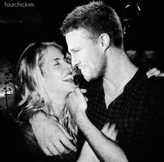 Arrow Olicity Oliver Queen and Felicity Smoak #Arrow #Olicity