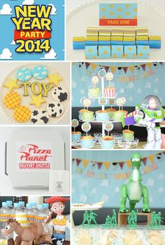 Toy story themed party by little lemonade. http://little-lemonade.com