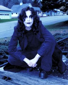 G as The Crow