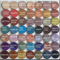 Makeup Geek Eyeshadows  Beautybreeze_sv  ~ on Instagram
