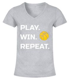 "# Play. Win. Repeat. Basketball T Shirt Tee .  Special Offer, not available in shops      Comes in a variety of styles and colours      Buy yours now before it is too late!      Secured payment via Visa / Mastercard / Amex / PayPal      How to place an order            Choose the model from the drop-down menu      Click on ""Buy it now""      Choose the size and the quantity      Add your delivery address and bank details      And that's it!      Tags: This fun t shirt is great for the…"