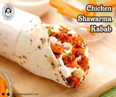 Splash of sauces, fresh veggies and tender chicken all packed to a roll, Chicken Shawarma tastes amazing at THALAPPAKATTI RESTAURANT   Order Online: http://bit.ly/ThalappakattiWeb  #DindigulThalappakatti #Thalappkatti #ThalappakattiRestaurant