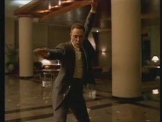 Fatboy Slim's Weapon of Choice video featuring Christopher Walken, filmed in the L.A. Marriott Hotel in December 2000 and directed by Spike Jonze.