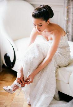 princess cut wedding dress
