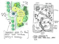 Landscape Architecture Portfolio Layout: Landscape Architecture Portfolio  Sample Drawing