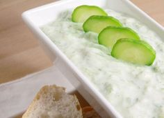 Grab some cucumbers, yogurt and cool off with this simple homemade tzatziki recipe.