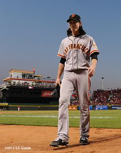 Tim Lincecum - Look at that Smile!!!! Love It Timmy!