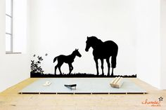 Horse Wall Decal by ChamberDecals on Etsy, $85.00