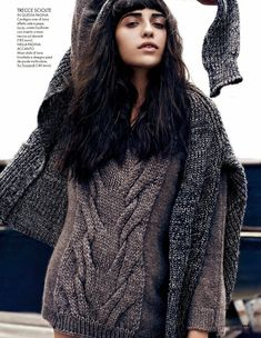 Vanessa Moreira Keeps it Casual for Dan Martensen in Elle Italia Spread