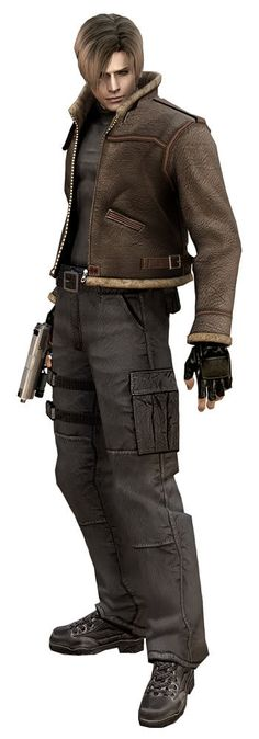 Leon from the Resident Evil games.