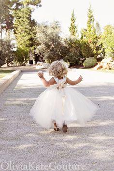 Flower Girl Dress Toddler Baby by OliviaKateCouture on Etsy, $99.95