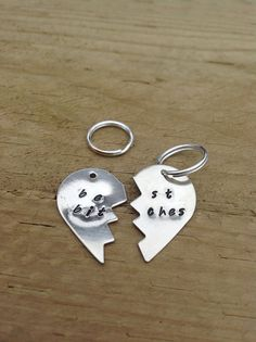 Best Bitches key chains by StuffByStace on Etsy, $20.00