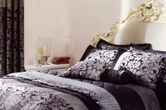 #Bed #Linen #BedLinen #Bedroom #Duvet #DuvetCover #BedSpread Make your bedroom feel like a million dollars. All products available from www.bbhsl.com Bed Linen, Linen Bedding, Bedroom Accessories, Bedspreads, Duvet Covers, Pillows, Furniture, Home Decor, Products