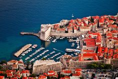 Dubrovnik, Croatia.  One of the most beautiful places I have ever been to.