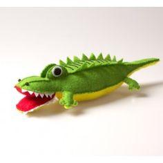 Kit couture : Crocodile en feutrine