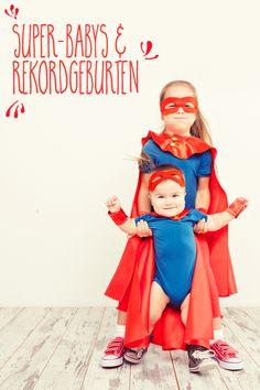 Das größte Baby, die älteste Mutter und die schnellste Geburt: Eine Galerie voller Rekord Babys & ungewöhnlicher Geburten.