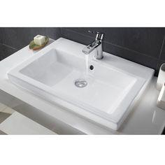 vasque poser en r sine blanche tona sde pinterest. Black Bedroom Furniture Sets. Home Design Ideas