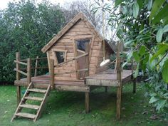 Forest Crooked Playhouse - Enchanted Creations Playhouses & Treehouses