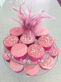 40th Birthday Cupcakes 40th Birthday Cupcakes, Desserts, Food, Birhday Cake, Tailgate Desserts, Deserts, Essen, Postres, Meals