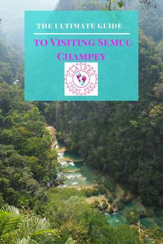 Thinking of visiting Semuc Champey? Visiting Semuc Champey was one of the best decisions I made on my Guatemalan adventure. Sadly getting here and away isn't so nice. You have to work hard to get here, but boy is it worth it! So here is my ultimate guide to visiting Semuc Champey.