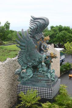 Vishnu over Garuda, Bali
