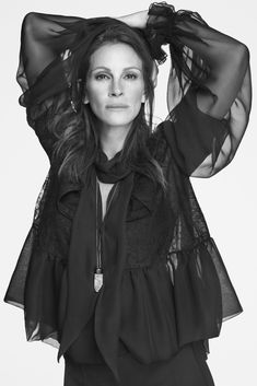 Julia Roberts by Mert+Marcus for Givenchy Spring 2015 Campaign