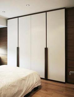 Modern Black And White Bedroom Wardrobe Doors