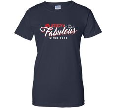 1965 Tshirt-Made In 1981 35 Years Of Being Awesome For Women t-shirt