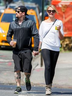 Cameron Diaz and Benji Madden Just Got MARRIED!