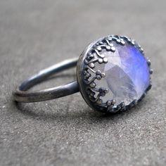 Moonstone ring..... my birthstone