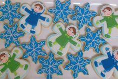 snow angel cookies | Snow Angels
