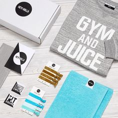 'GYM & JUICE' | The Gym Sweatshirt Fit Kit, Gift Box