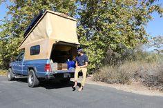 Truck Camper, Build A Camper, Diy Camper, Camper Ideas, Pickup Camping, Truck Bed Camping, Camping Trailers, Comanche Jeep, Pop Top Camper