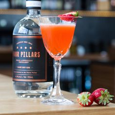 Spring tastes like gin and strawberries.