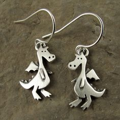These dragons aren't fierce looking at all, but they look like they'd be fun to hang out with....you know, on your ears. Oh my, that was cheesy. Go pick them up for $33.00
