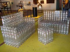 Clever! Using Plastic Bottles to make well everything.