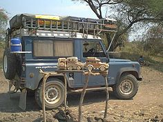 Perfect wooden Land Rover models are widely available in Malawi - a great souvenir!