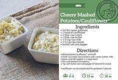 Raw Butter + Mashed Potatoes/Cauliflower — Organic Pastures