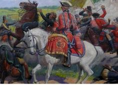 Tambour-major at the Battle of Fontenoy