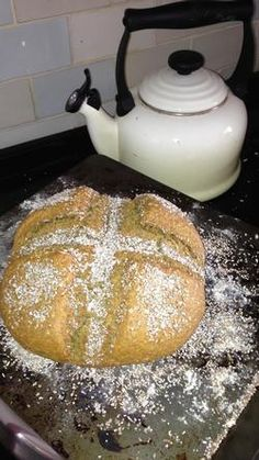 Spiced Soda Bread - Cosy sweet bread & raising dough in cold weather  Photography: Leeanne Cooper