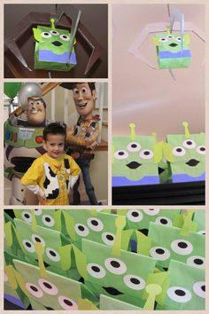 Tyler's 4th birthday party - Toy Story
