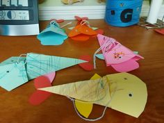 Fish toddler craft