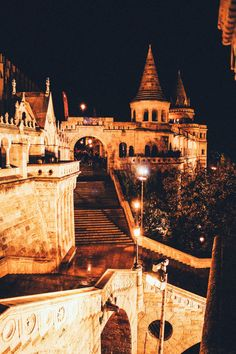 Things To Do In Budapest at Night Fisherman's Bastion