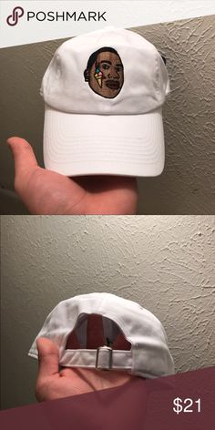 Gucci Mane With Face Tat Dad Hats Strapback Caps 100% cotton high quality caps  Gucci Mane with his ice cream tatt  Color: white  - Shipped Via USPS 3-4 Days with Tracking.  *Please verify your shipping address is Correct. I am not responsible for such problems.   Embroidered & Usually shipped same or next day. If you order on a Friday, it will not ship until the following Monday. ALL BUSINESS IS TAKEN SERIOUSLY!   *IF YOU WOULD LIKE TO REQUEST A HAT TO BE IN A CERTAIN COLOR PLS SPECIFY IN…