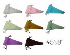 Cone Shape Organza Favor Bags  You choose by ILoveYoYoWedding, $4.00