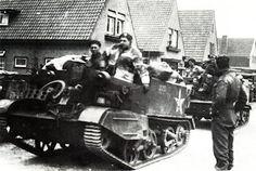 Beilen, 12 april 1945. Les Fusiliers Mont Royal