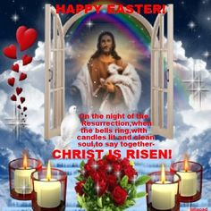 Christ Is Risen, Candles, Illustration, Happy, Quilling, Cricket, Friday, Quotes, Folklore
