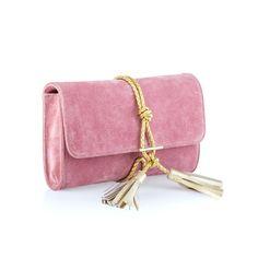 NIKKI WILLIAMS HANDBAGS · Marni Suede + Braided Leather Clutch - Dust Pink  Braided Leather 2a868cb3fdeb4