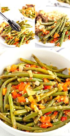 Fresh Green Bean Side Dish Recipe is a fantastic side dish anytime of the year but especially when fresh green beans are in season.
