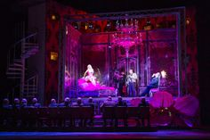 Manon Lescaut at the Royal Opera House (2014). Production by Jonathan Kent. Sets by Paul Brown.